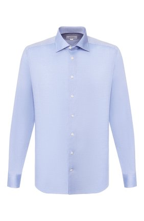 Мужская хлопковая сорочка ETON голубого цвета, арт. 1000 00829 | Фото 1