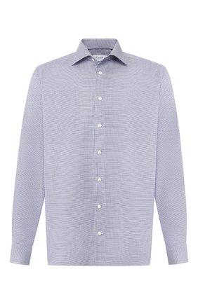 Мужская хлопковая сорочка ETON синего цвета, арт. 1000 00555 | Фото 1