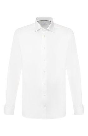 Мужская хлопковая сорочка ETON белого цвета, арт. 1000 00490 | Фото 1