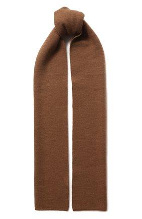 Мужской шерстяной шарф civil CANOE коричневого цвета, арт. 4805850 | Фото 1
