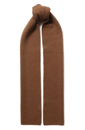 Мужской шерстяной шарф civil CANOE бежевого цвета, арт. 4805850 | Фото 1