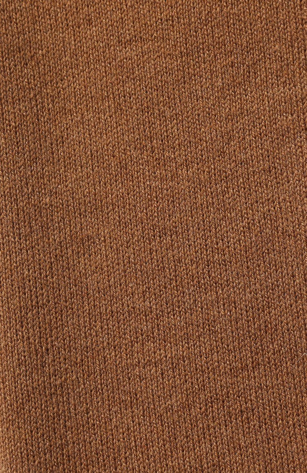 Мужской шерстяной шарф civil CANOE бежевого цвета, арт. 4805850 | Фото 2