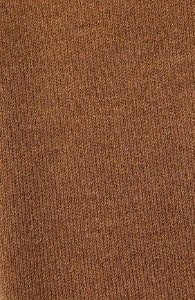 Мужской шерстяной шарф civil CANOE коричневого цвета, арт. 4805850 | Фото 2