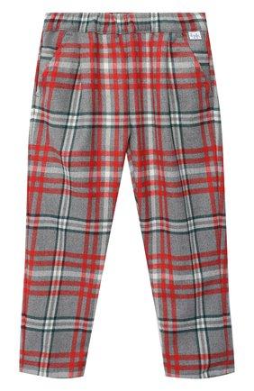 Детского брюки IL GUFO разноцветного цвета, арт. A19PL291W3R39/5A-8A | Фото 1