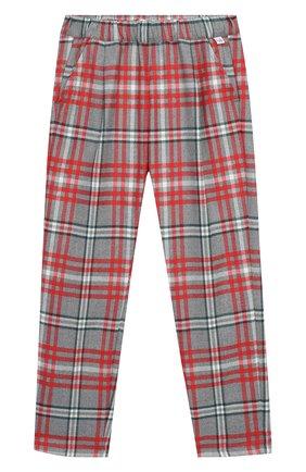 Детского брюки IL GUFO разноцветного цвета, арт. A19PL291W3R39/10A-12A | Фото 1