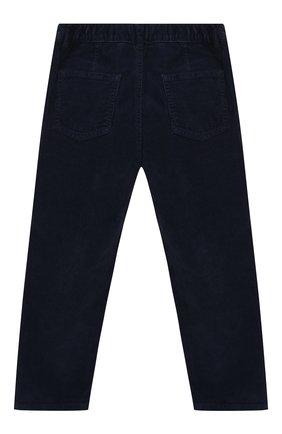 Детские хлопковые брюки IL GUFO темно-синего цвета, арт. A19PL255V6005/5A-8A | Фото 2