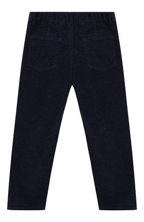Детские хлопковые брюки IL GUFO темно-синего цвета, арт. A19PL255V6005/2A-4A | Фото 2