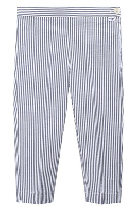 Детского хлопковые брюки IL GUFO голубого цвета, арт. P20PR004C1057/2A-4A | Фото 1