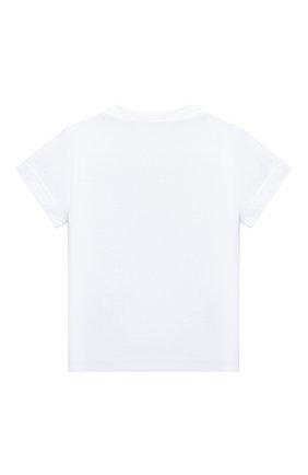 Детская хлопковая футболка IL GUFO белого цвета, арт. P20TS226M0014/2A-4A | Фото 2