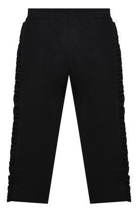 Детские брюки PHILOSOPHY DI LORENZO SERAFINI KIDS черного цвета, арт. PJPA20/JE08/UH026/L-XL   Фото 2