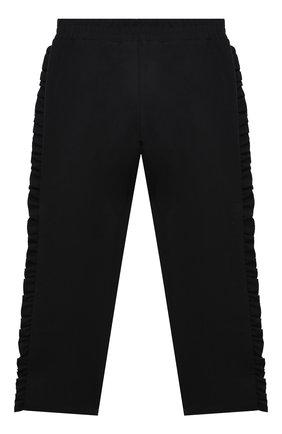 Детские брюки PHILOSOPHY DI LORENZO SERAFINI KIDS черного цвета, арт. PJPA20/JE08/UH026/S-M   Фото 2