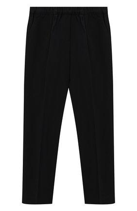 Детские брюки PHILOSOPHY DI LORENZO SERAFINI KIDS черного цвета, арт. PJPA25/GA37/UHUNI/L-XL   Фото 2