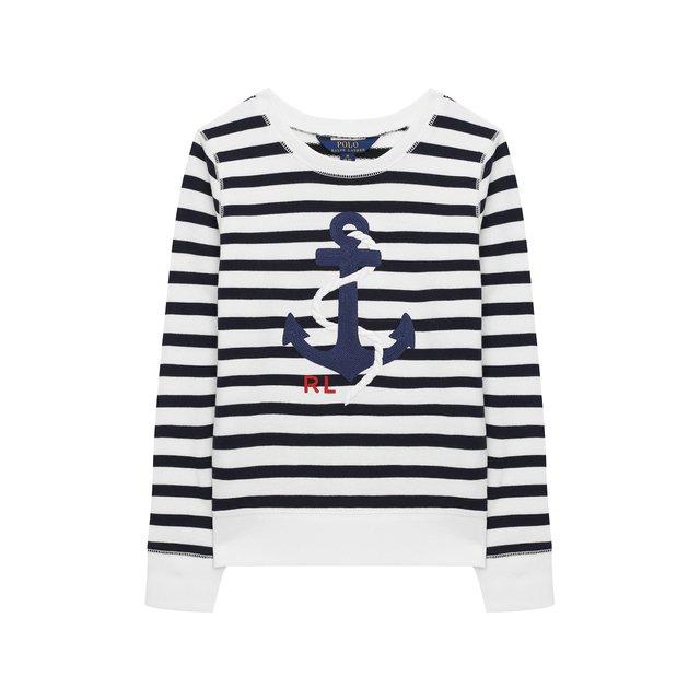 Хлопковый свитшот Polo Ralph Lauren — Хлопковый свитшот