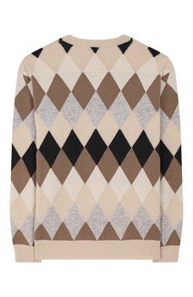 Пуловер из шерсти и кашемира | Фото №2