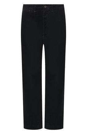 Мужские джинсы RRL темно-синего цвета, арт. 782754558 | Фото 1 (Материал внешний: Хлопок; Длина (брюки, джинсы): Стандартные; Кросс-КТ: Деним; Силуэт М (брюки): Прямые)