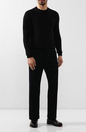 Мужские джинсы RRL темно-синего цвета, арт. 782754558 | Фото 2 (Материал внешний: Хлопок; Длина (брюки, джинсы): Стандартные; Кросс-КТ: Деним; Силуэт М (брюки): Прямые)