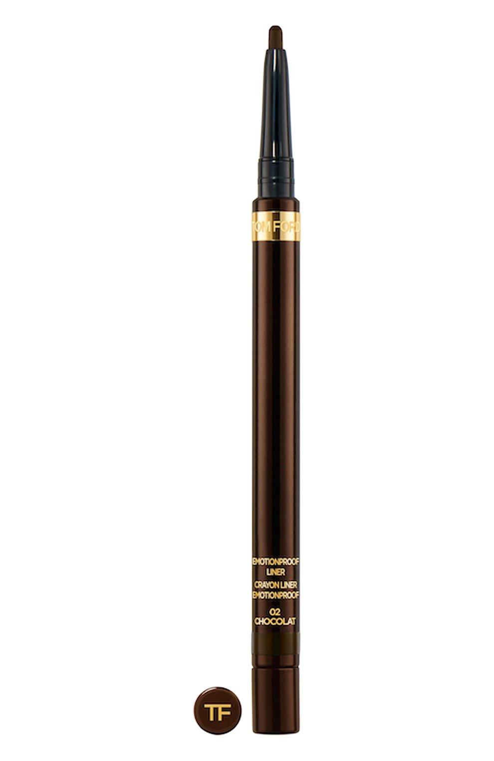 Женский карандаш для глаз emotionproof, оттенок 02 chocolat TOM FORD бесцветного цвета, арт. T6YF-02   Фото 1