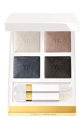 Женские тени для век eye color quad, оттенок 01 soleil neige TOM FORD бесцветного цвета, арт. T7RF-01 | Фото 1