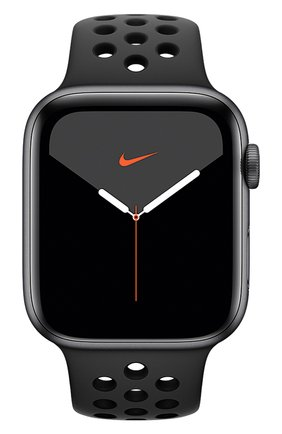 Смарт-часы Apple Watch Nike Series 5 GPS 44mm Space Gray Aluminium Case with Anthracite/Black Nike Sport Band | Фото №2