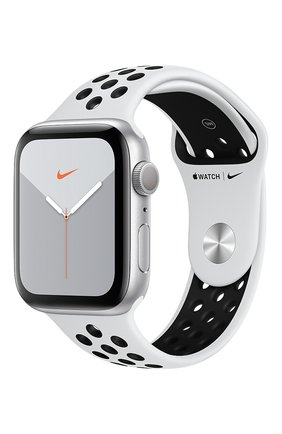 Смарт-часы Apple Watch Nike Series 5 GPS 44mm Silver Aluminium Case with Anthracite/Black Nike Sport Band | Фото №1