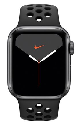 Мужские смарт-часы apple watch nike series 5 gps 40mm space gray aluminium case with anthracite/black nike sport band APPLE space gray цвета, арт. MX3T2RU/A | Фото 2
