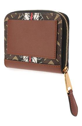 Женские портмоне BURBERRY коричневого цвета, арт. 8022453 | Фото 2