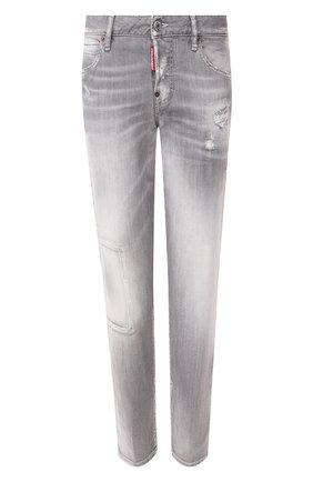 Женские джинсы DSQUARED2 серого цвета, арт. S75LB0262/S30260 | Фото 1