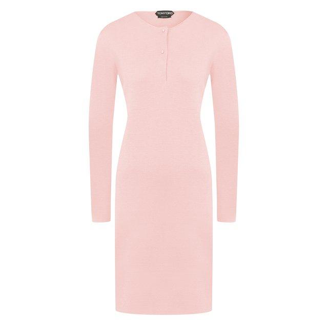 Платье из смеси кашемира и шелка Tom Ford