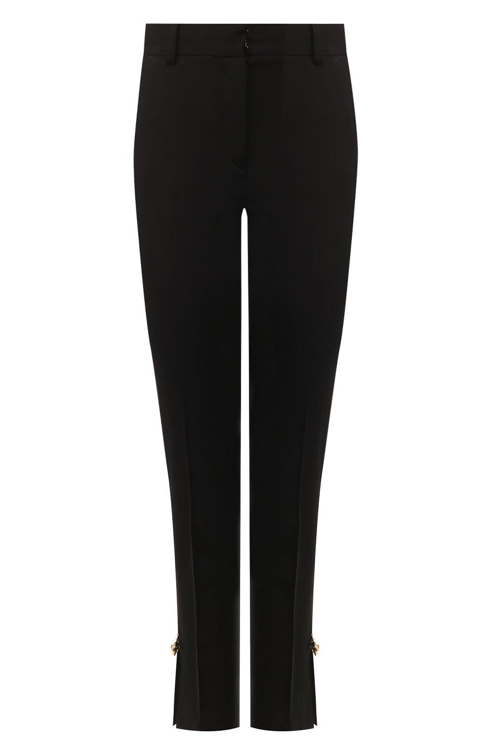 Женские брюки VERSACE черного цвета, арт. A85701/A220957 | Фото 1