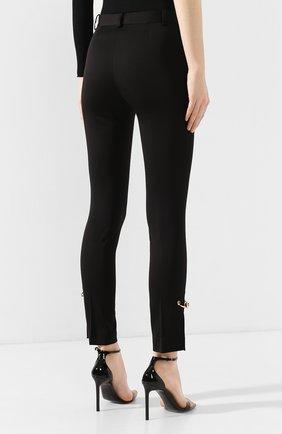 Женские брюки VERSACE черного цвета, арт. A85701/A220957 | Фото 4