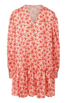 Женское платье с принтом DROME розового цвета, арт. DTDA392P/D1822P   Фото 1