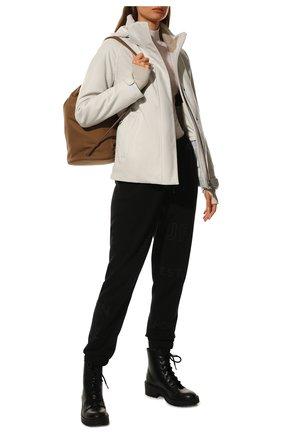 Женская утепленная куртка LORO PIANA белого цвета, арт. FAL0204 | Фото 2