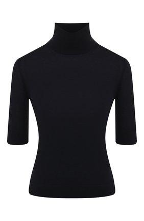 Женская кашемировый пуловер LORO PIANA темно-синего цвета, арт. FAL0175 | Фото 1