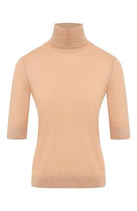 Женская кашемировый пуловер LORO PIANA бежевого цвета, арт. FAL0175 | Фото 1