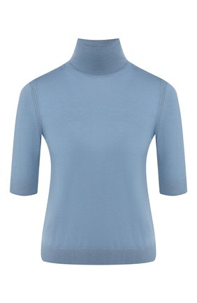 Женская кашемировый пуловер LORO PIANA голубого цвета, арт. FAL0175 | Фото 1