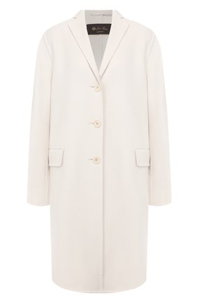 Женское кашемировое пальто LORO PIANA светло-серого цвета, арт. FAI9608 | Фото 1