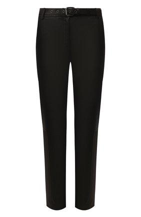Женские кожаные брюки TOM FORD черного цвета, арт. PAL688-LEX224 | Фото 1