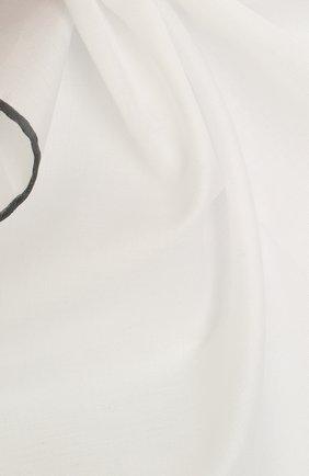 Мужской хлопковый платок TOM FORD белого цвета, арт. TFZ89/TF315 | Фото 2