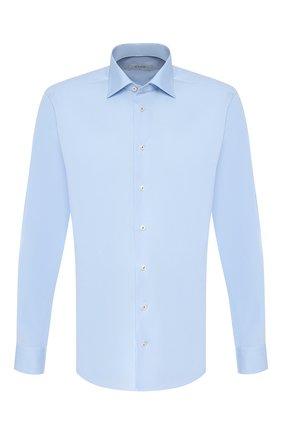 Мужская хлопковая сорочка ETON голубого цвета, арт. 1000 00492 | Фото 1