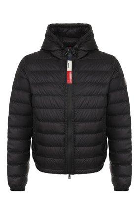 Мужская пуховая куртка rook MONCLER черного цвета, арт. F1-091-1A115-00-C0453 | Фото 1