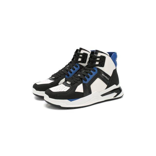 Кожаные кроссовки Balmain — Кожаные кроссовки