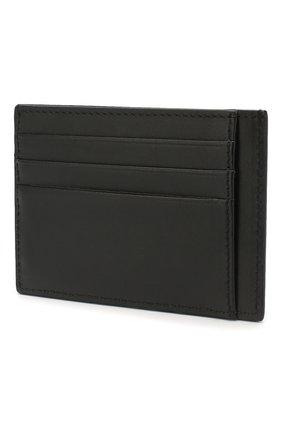 Мужской кожаный футляр для кредитных карт VERSACE черного цвета, арт. DPN7846/DVTE4 | Фото 2