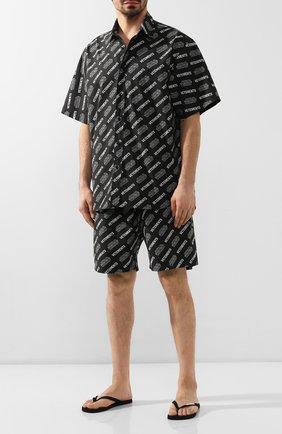 Мужские шлепанцы VETEMENTS черного цвета, арт. SS20SD006 1374/M | Фото 2