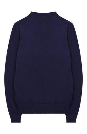 Детский хлопковый пуловер BILLIONAIRE темно-синего цвета, арт. B20C BKO0138 BKN004N | Фото 2