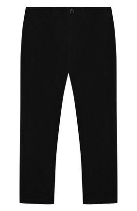 Детского вельветовые брюки POLO RALPH LAUREN черного цвета, арт. 313760381 | Фото 1