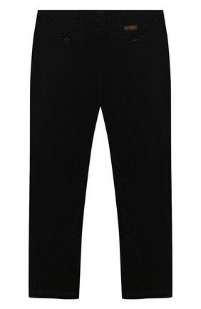 Детского вельветовые брюки POLO RALPH LAUREN черного цвета, арт. 313760381 | Фото 2