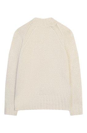 Детский свитер IL GUFO серебряного цвета, арт. A19MA301EM630/10A-12A | Фото 2