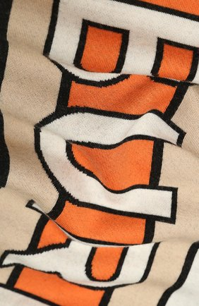 Детский шерстяной шарф BURBERRY разноцветного цвета, арт. 8023671 | Фото 2