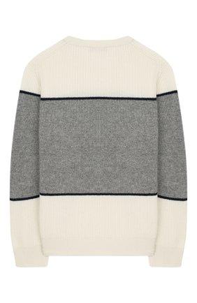 Детский кашемировый пуловер BRUNELLO CUCINELLI разноцветного цвета, арт. B2215300B | Фото 2