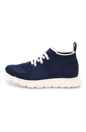 Детские текстильные кроссовки IL GUFO синего цвета, арт. G803/CALZIN0/31-34 | Фото 2